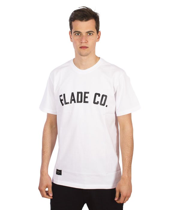 Elade-College T-Shirt Biały