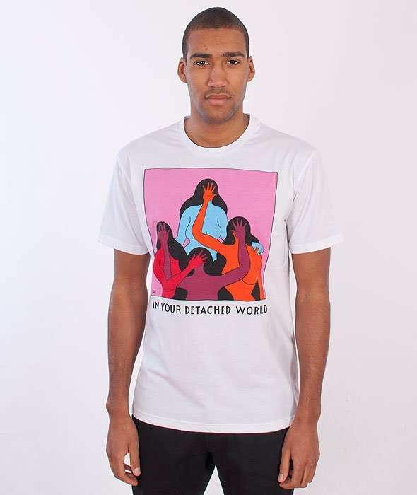 Parra-Detached World T-Shirt White