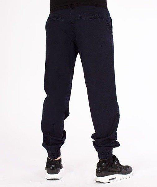 SmokeStory Jogger Regular Classic Spodnie Granatowe