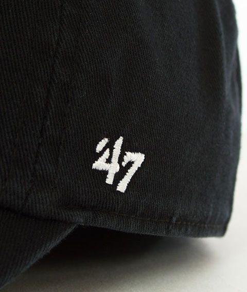 47 Brand-Clean Up Atlanta Braves Czapka z Daszkiem Czarna
