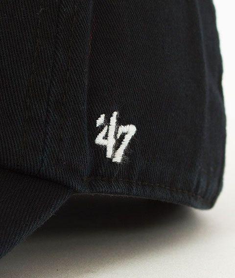 47 Brand-Clean Up Chicago Blackhawks Czapka z Daszkiem Czarna