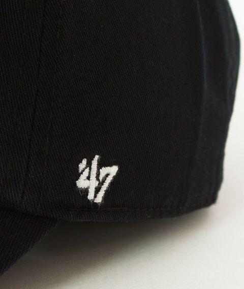 47 Brand-Clean Up Chicago White Sox Czapka z Daszkiem Czarna