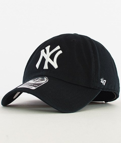 47 Brand-Clean Up New York Yankees Czapka z Daszkiem Czarna