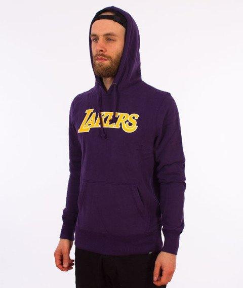 47 Brand-Los Angeles Lakers Bluza Kaptur Fiolet