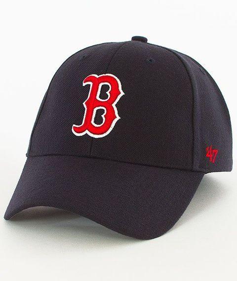 47 Brand-MVP Boston Red Sox Czapka z Daszkiem Granatowa