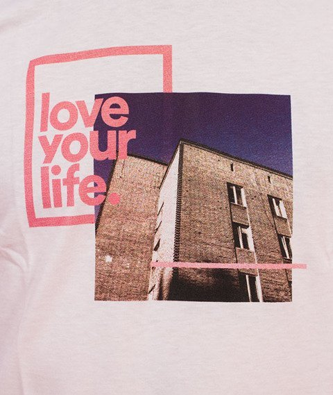 Alkopoligamia-Loveyourlife T-Shirt Chabrowy