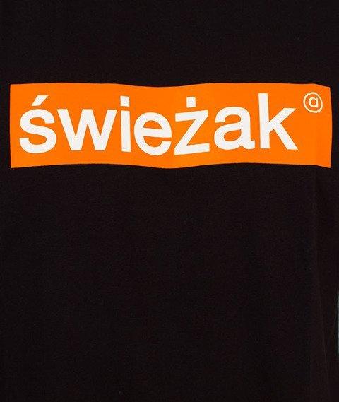 Alkopoligamia-Whatever Young Świeżak T-Shirt Czarny