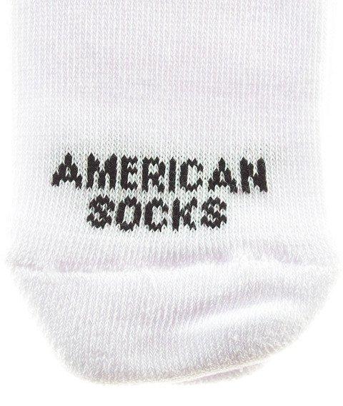 American Socks-Rainbow Pride Mid High Skarpetki Białe