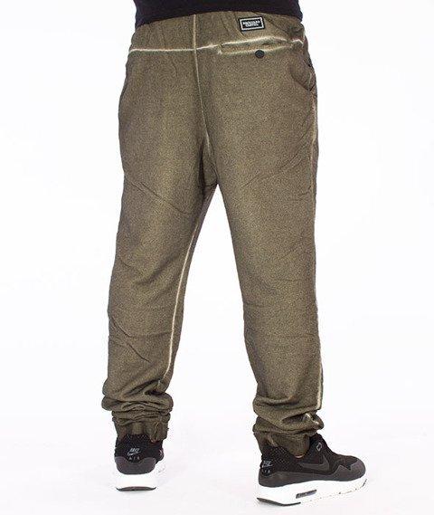 Backyard Cartel-Back 2 Black Sweatpants Spodnie Dresowe Oliwkowe