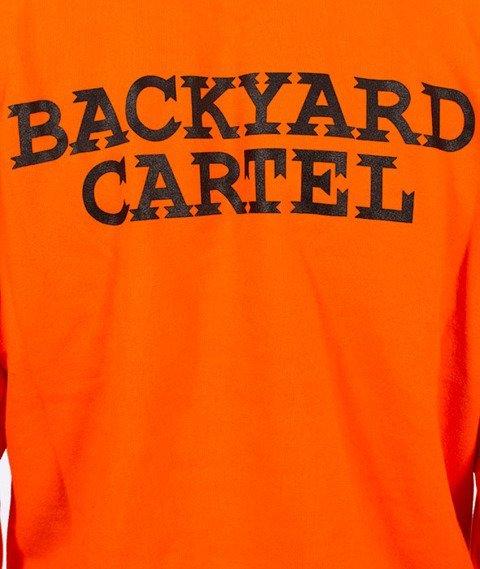 Backyard Cartel-Back Label Bluza Pomarańczowa