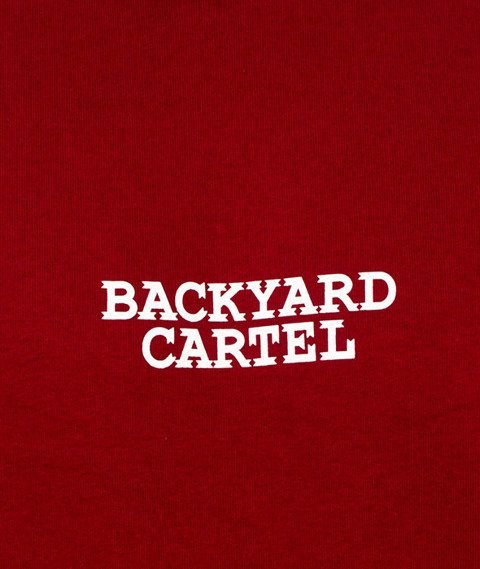 Backyard Cartel-Cartel Crew Bluza Bordowa