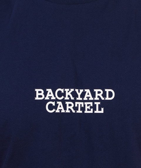 Backyard Cartel-Cartel T-Shirt Granatowy