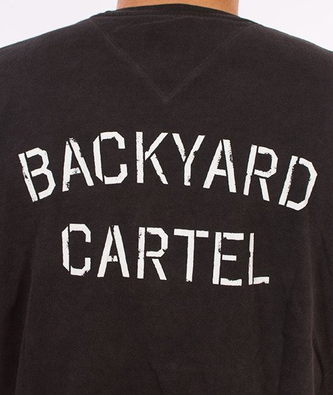 Backyard Cartel-Combat T-Shirt Szary