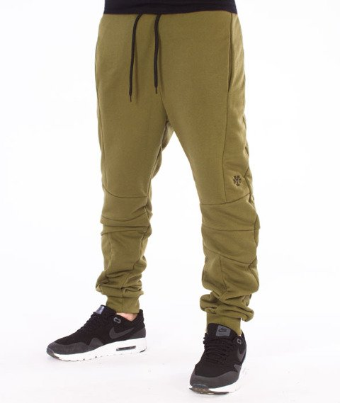 Backyard Cartel-Direction Sweatpants Spodnie Dresowe Khaki