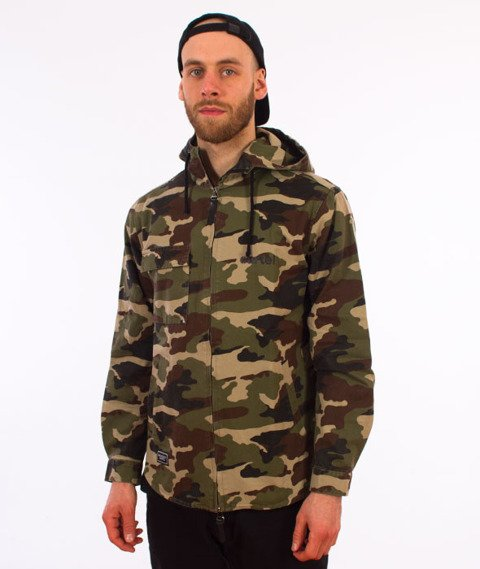 Backyard Cartel-Disaster Jacket Kurtka Woodland Camo