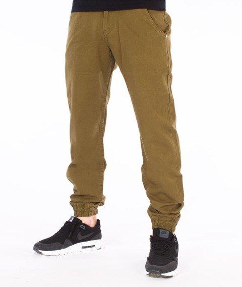 Backyard Cartel-Jogger Chino Spodnie Khaki