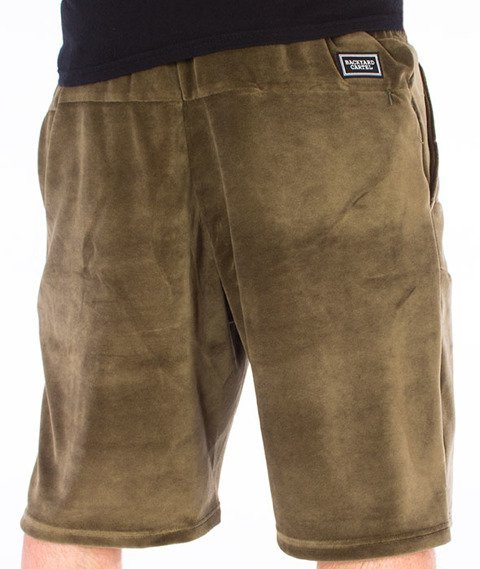 Backyard Cartel-Smooth Shorts Khaki