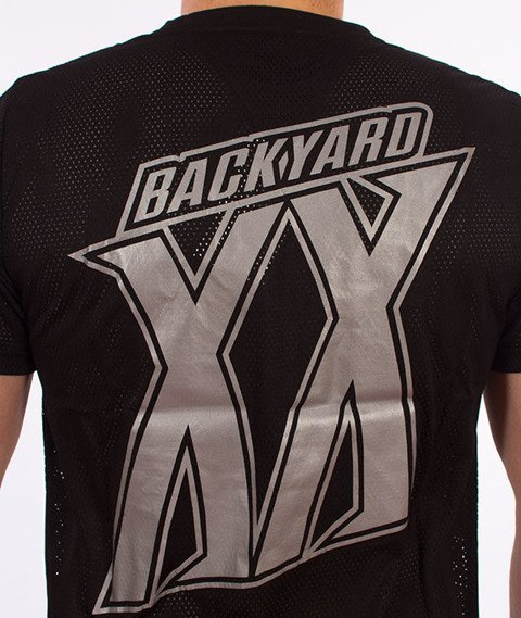 Backyard Cartel-Sweat Sport T-Shirt Czarny