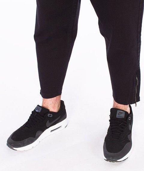 Backyard Cartel-Wave Short Fit Spodnie Materiałowe Czarne