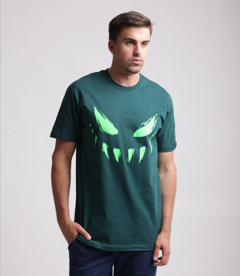 Biuro Ochrony Rapu-Atypowy T-shirt Ciemno Zielony