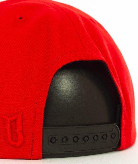 Biuro Ochrony Rapu-BOR New Snapback Czerwony