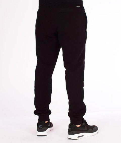 Biuro Ochrony Rapu-BORnew Spodnie Dresowe Czarne