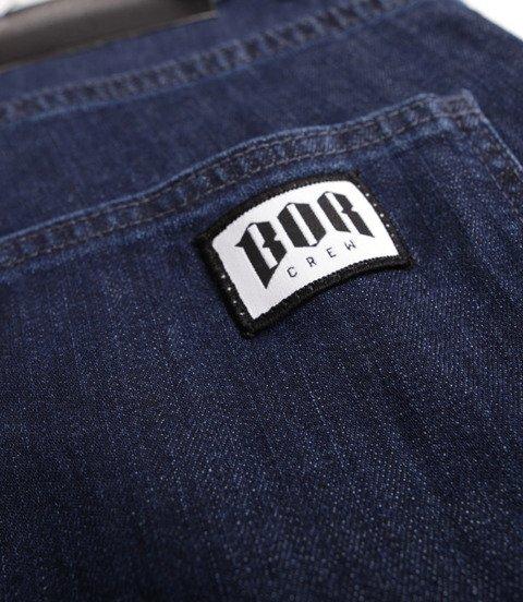 Biuro Ochrony Rapu-Bor New Szorty Krótkie Spodnie Medium Jeans