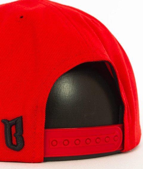 Biuro Ochrony Rapu-Borcrew Classic Snapback Czerwony