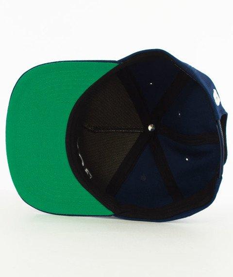 Biuro Ochrony Rapu-Borcrew Classic Snapback Granat