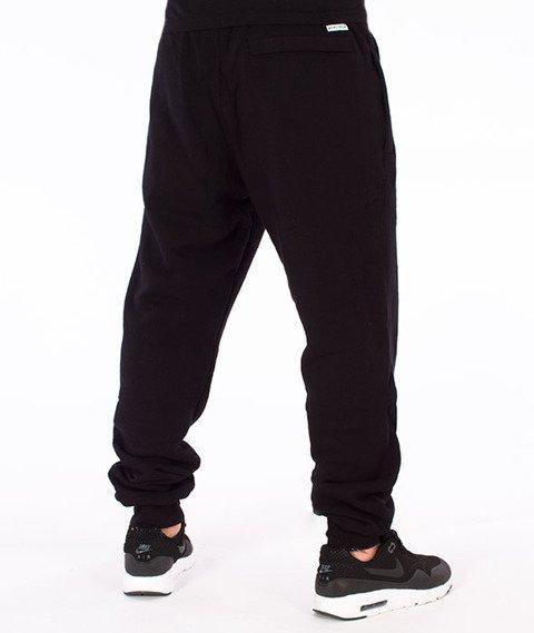 Biuro Ochrony Rapu-Borcrew Spodnie Dresowe Czarne