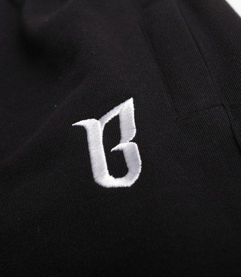 Biuro Ochrony Rapu CLASSIC BORCREW Krótkie Spodnie Dresowe Czarny