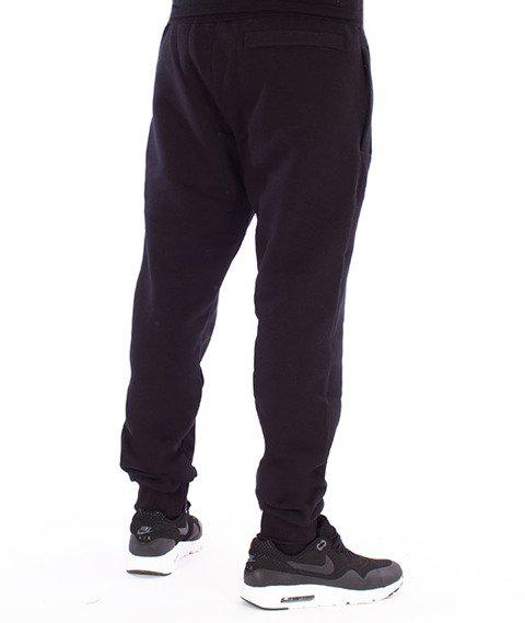 Biuro Ochrony Rapu-College Spodnie Dresowe Czarne