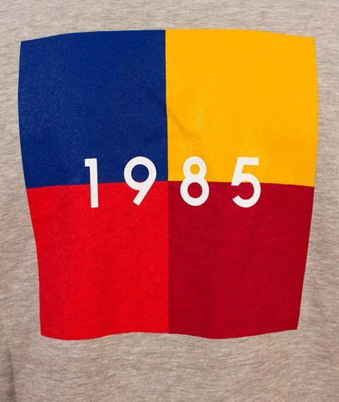 Biuro Ochrony Rapu-Color Square Bluza Szara