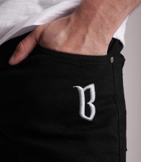 Biuro Ochrony Rapu-Jeans Classic BorCrew Spodnie Czarne