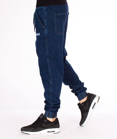 Biuro Ochrony Rapu-Jogger Fit Guma Strecz Spodnie Borcrew Medium