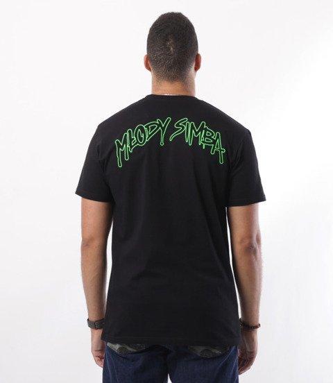 Biuro Ochrony Rapu-Młody Simba T-shirt Czarny