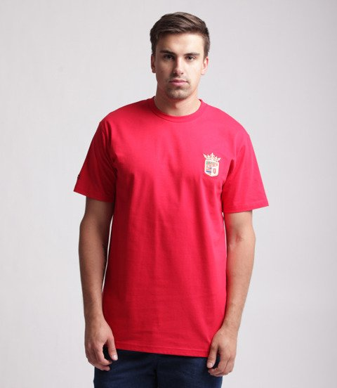 Biuro Ochrony Rapu-New Herb T-shirt Czerwony