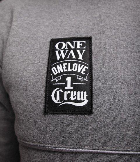 Biuro Ochrony Rapu-One Way Bluza Ciemny Szary