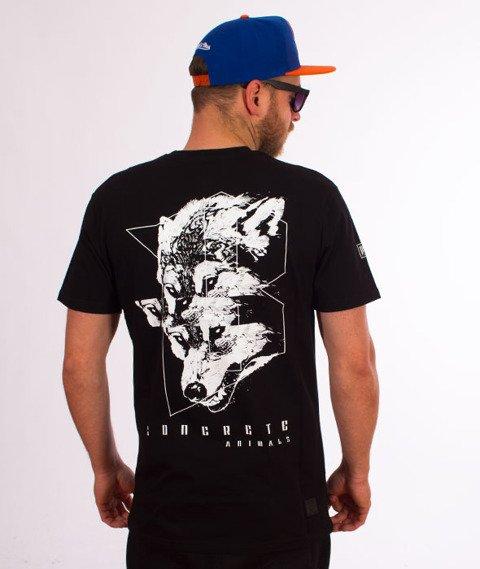 Biuro Ochrony Rapu-Wilk T-shirt Czarny
