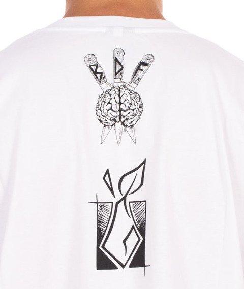 Brain Dead Familia-Cthulhu T-shirt Biały