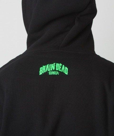 Brain Dead Familia-Halloween Bluza Kaptur Czarny