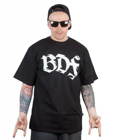 Brain Dead Familia-Spine T-shirt Czarny