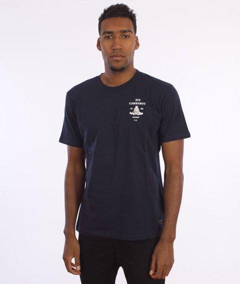 Carhartt-Artillery T-Shirt Grey Navy/White