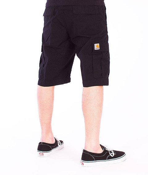 Carhartt-Aviation Short Black Rinsed
