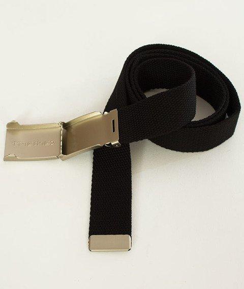 Carhartt-Clip Belt Chrome Black