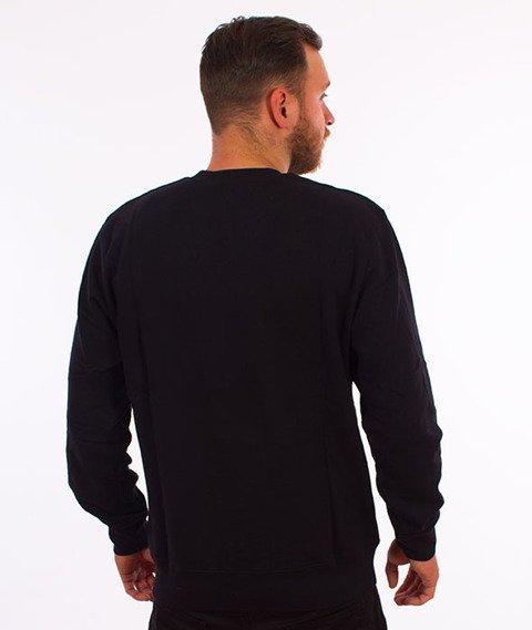 Carhartt-College Script Sweatshirt Black/White