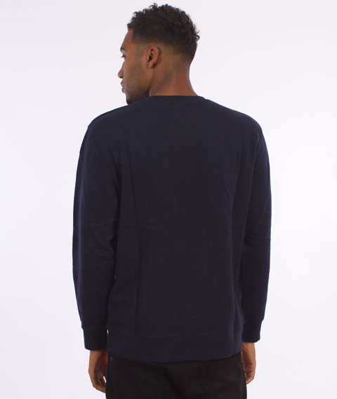 Carhartt-College Sweatshirt Navy/White