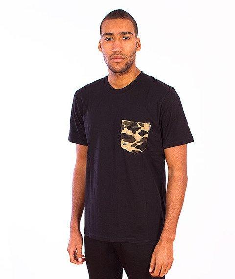 Carhartt-Contrast Pocket T-Shirt  Black/Camo Duck