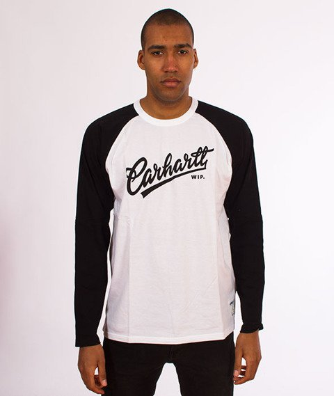 Carhartt-Craft Script Longsleeve White/Black