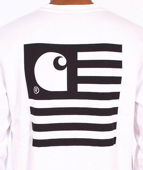 Carhartt-State Flag Sweat  White/Black